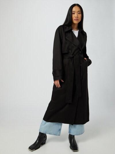 WEEKDAY Mantel 'Cassidy' in schwarz, Modelansicht