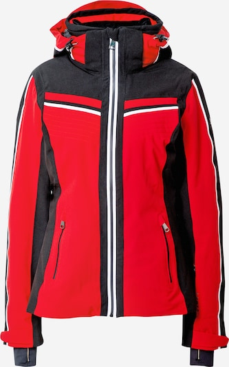 LUHTA Outdoor jacket 'ENKLINGE' in red / black / white, Item view