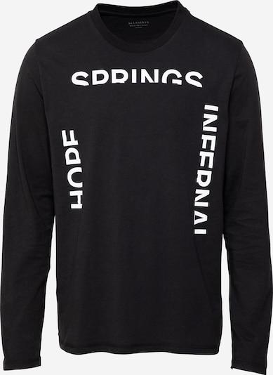 AllSaints Shirt 'Infernal' in schwarz / weiß, Produktansicht