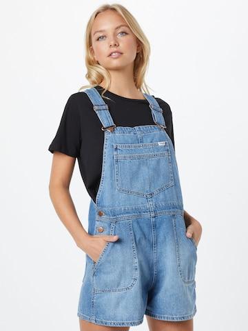WRANGLER Tuinbroek jeans in Blauw