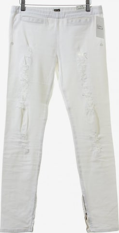 RARE LONDON Slim Jeans in 27-28 in Weiß