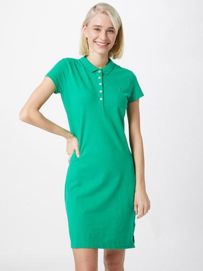 TOMMY HILFIGER Kleid in grün, Modelansicht