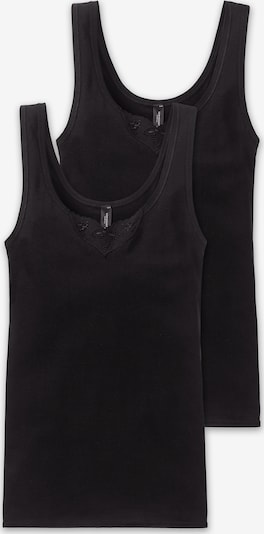 SCHIESSER Onderhemd in de kleur Zwart, Productweergave