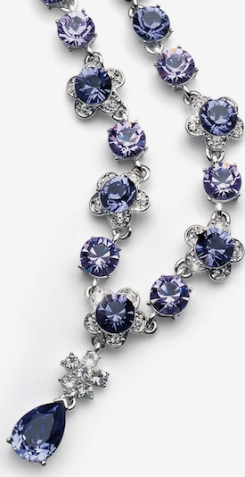 Oliver Weber Collier `Prestige` in lila / silber, Produktansicht