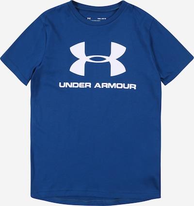 UNDER ARMOUR Funkční tričko - modrá / bílá, Produkt
