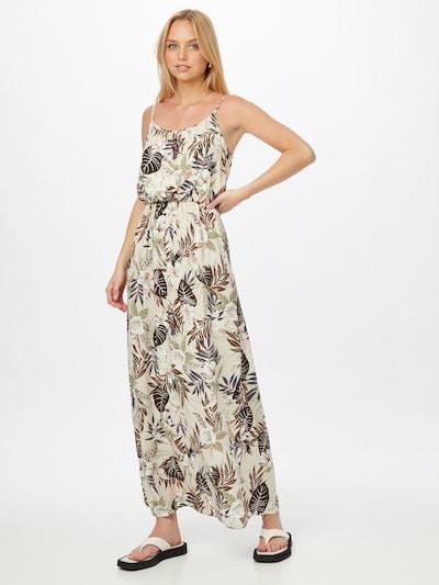 ONLY Kleid 'NOVA' in creme / navy / dunkelbraun / pastellgrün / weiß, Modelansicht