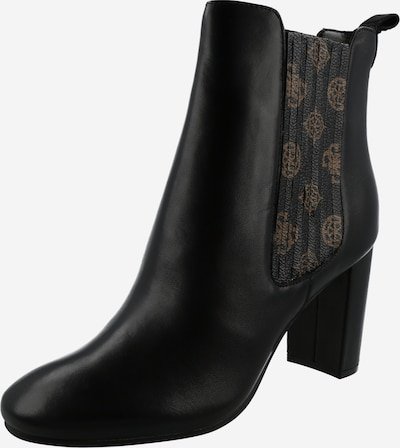 GUESS Bootie 'Kaelyn' in Light brown / Black, Item view