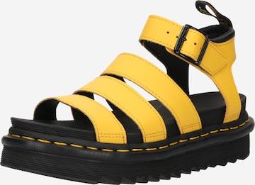 Dr. Martens Sandale 'Blaire' in Gelb