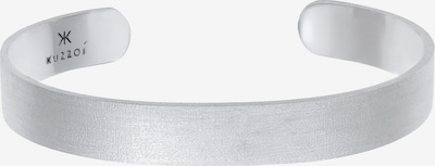 KUZZOI Armband Armreif in silber, Produktansicht