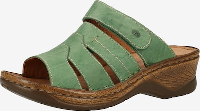 JOSEF SEIBEL Pantolette in smaragd, Produktansicht