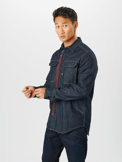 G-Star RAW Koszula w kolorze niebieskim, Podgląd na modelu(-ce)