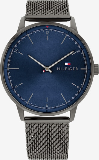TOMMY HILFIGER Uhr in blau / grau, Produktansicht