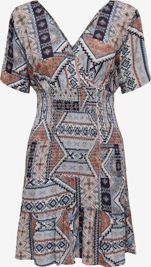 ONLY Robe 'Adele' en bleu clair / mélange de couleurs, Vue avec produit