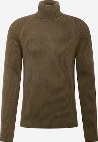 BOSS Sweater 'Novenzo' in Green