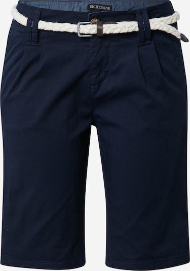 Eight2Nine Pantalon chino en bleu foncé, Vue avec produit