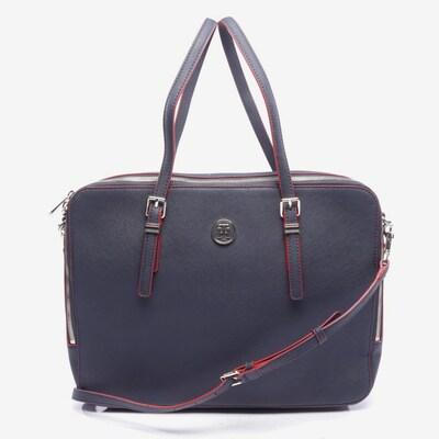 TOMMY HILFIGER Handtasche in M in nachtblau / rot, Produktansicht