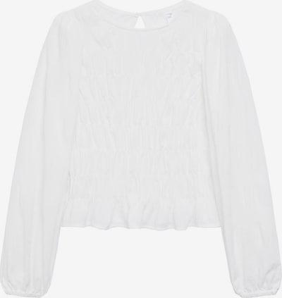 Bluză 'Lamb' MANGO pe alb, Vizualizare produs