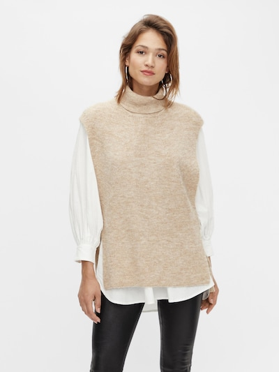 Y.A.S Pullover 'Marina' in camel: Frontalansicht