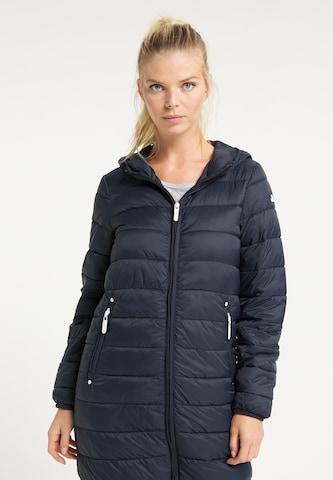 ICEBOUND Winter Coat in Blue