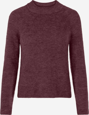 PIECES Pullover in Rot