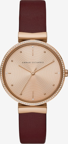 ARMANI EXCHANGE Analog Watch in Red