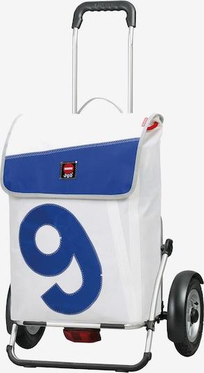 Andersen Shopper Royal Shopper Plus 360° Einkaufsshopper 61 cm in blau / weiß, Produktansicht