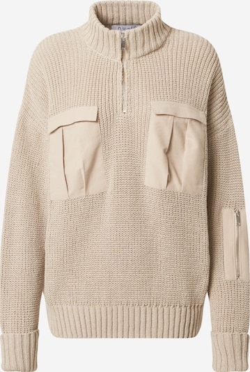 NU-IN Pullover in beige, Produktansicht