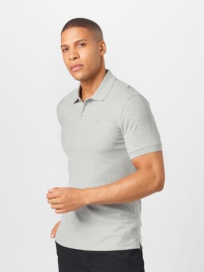 J.Lindeberg T-Shirt 'Troy' en gris chiné: Vue de face