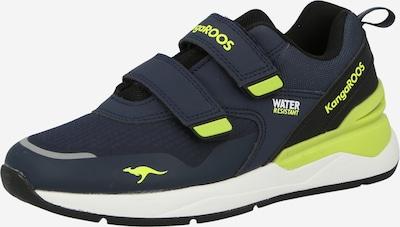 KangaROOS Sneaker in navy / grün, Produktansicht