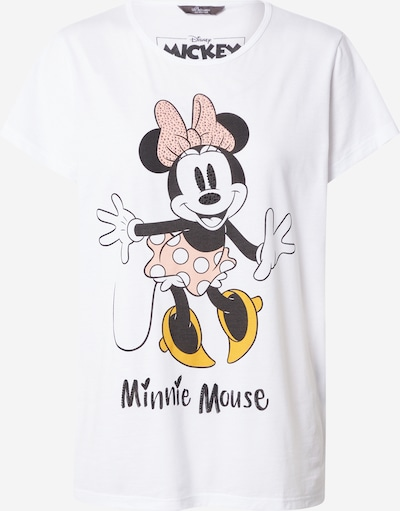 PRINCESS GOES HOLLYWOOD Shirt in gelb / hellpink / schwarz / weiß, Produktansicht