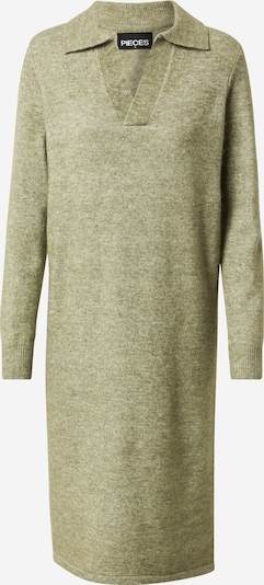 PIECES Knitted dress 'Flavia' in Khaki, Item view