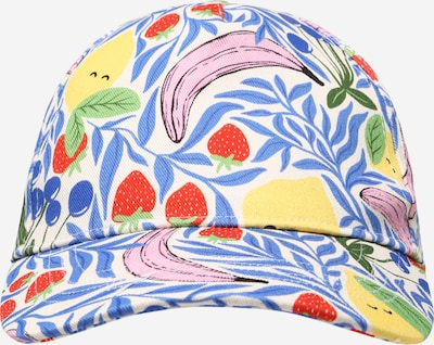 Gina Tricot Mini Hoed in de kleur Royal blue/koningsblauw / Geel / Rosa / Oranjerood / Wit, Productweergave