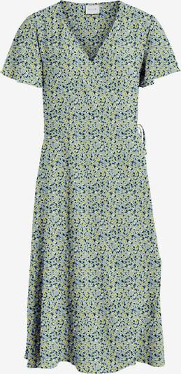 VILA Šaty 'Lovie' - námořnická modř / opálová / žlutá / bílá, Produkt