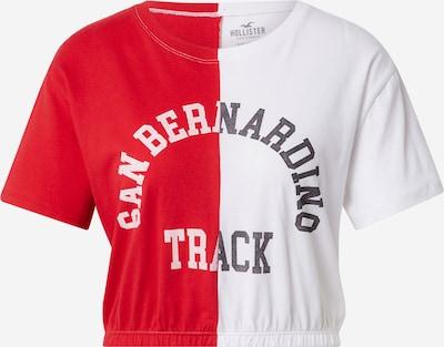 HOLLISTER Majica u tamno plava / crvena / bijela, Pregled proizvoda