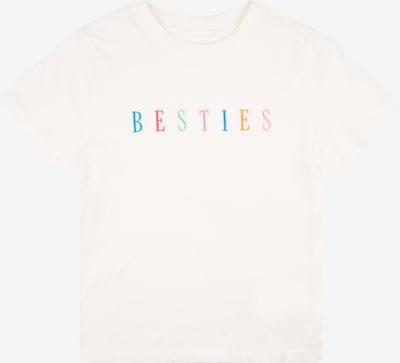 Cotton On T-Shirt en crème / bleu / menthe / orange / rouge, Vue avec produit