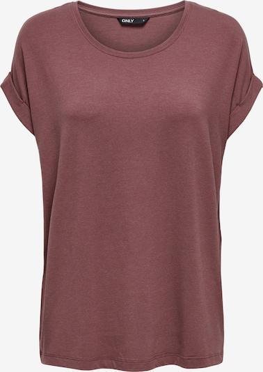 ONLY T-Shirt 'Moster' in dunkelrot, Produktansicht
