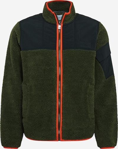 Calvin Klein Jeans Tussenjas in de kleur Navy / Kaki / Sinaasappel, Productweergave