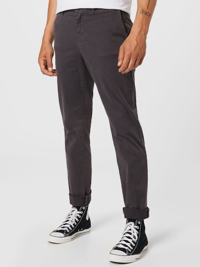 TOMMY HILFIGER Панталон Chino 'DENTON' в таупе сиво: Изглед отпред