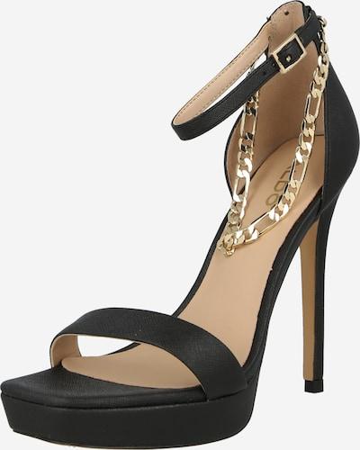 Sandale cu baretă 'SCARLETT' ALDO pe auriu / negru, Vizualizare produs