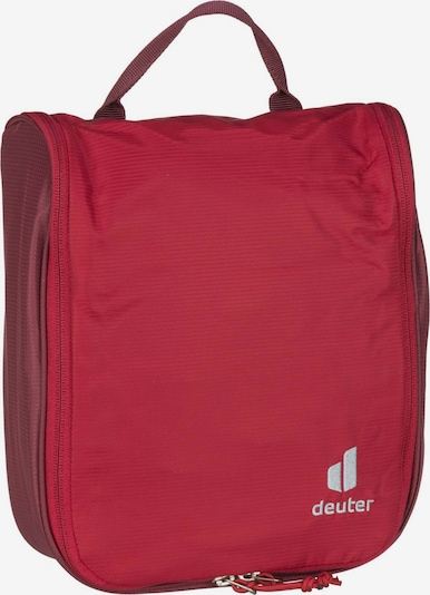 DEUTER Waschtasche in grau / rot, Produktansicht