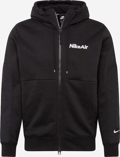Nike Sportswear Hoodie ' Air ' in schwarz, Produktansicht