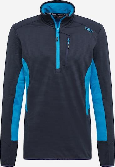 CMP Functioneel shirt in de kleur Blauw / Zwart, Productweergave