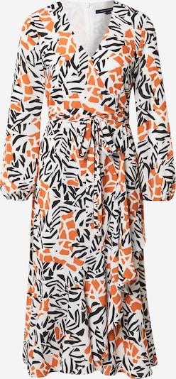 FRENCH CONNECTION Robe 'VERONA' en orange / noir / blanc, Vue avec produit