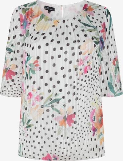 SPGWOMAN Bluse in mischfarben / schwarz / weiß, Produktansicht