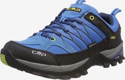 CMP Lage schoen 'Rigel' in de kleur Smoky blue / Geel / Zwart, Productweergave