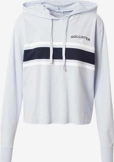 HOLLISTER Mikina - světlemodrá / tmavě modrá / bílá, Produkt