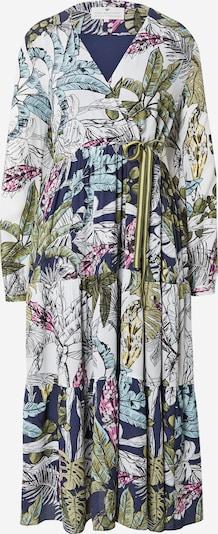 LIEBLINGSSTÜCK Robe 'Felina' en bleu marine / bleu clair / vert clair / noir / blanc, Vue avec produit