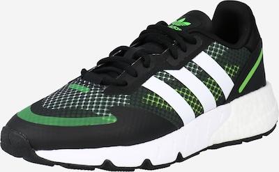 ADIDAS ORIGINALS Sneaker 'Zx 1K Boost' in grün / schwarz / weiß, Produktansicht