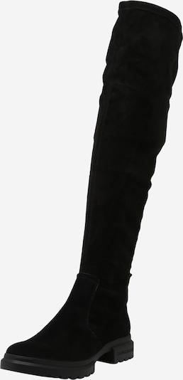 Calvin Klein Overkneestiefel in schwarz, Produktansicht
