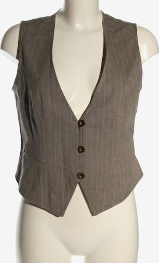 BOYSEN'S Anzugweste in L in braun / schwarz / weiß, Produktansicht